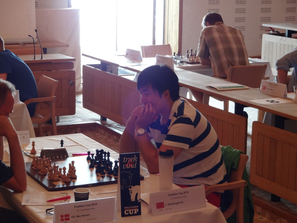 Tournament winner, Chinese GM Bu Xiangzhi